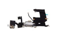 iPhone 5 - USB Flex (Lightning) / Sprachmikrofon / Audiojack - Weiß