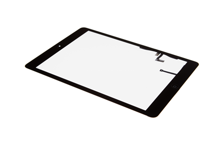 iPad Air 1 - Displayglas inkl. Touch schwarz
