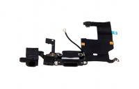 iPhone 5 - USB Flex (Lightning) / Sprachmikrofon / Audiojack - Schwarz