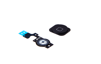 iPhone 5c - Homebutton und Homebutton Flex - Schwarz