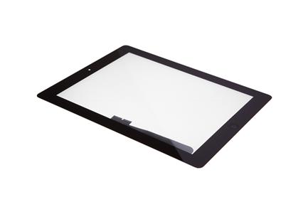 iPad 4 - Displayglas inkl. Touch schwarz