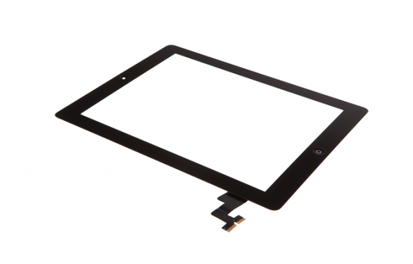 iPad 2 - Displayglas inkl. Touch schwarz