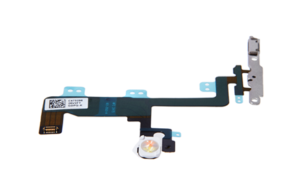iPhone 6 - Powerbutton Flex / Rückameralicht / Videomikrofon (Rückseite)