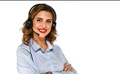 Telefonisting mit Headset