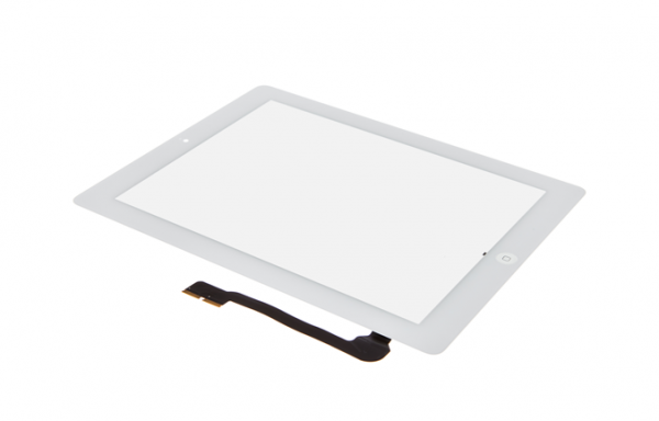 iPad 4 - Displayglas inkl. Touch weiß