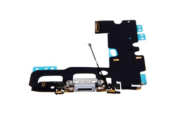 iPhone 7 - USB Flex (Lightning) / Sprachmikrofon / Audiojack - Grau