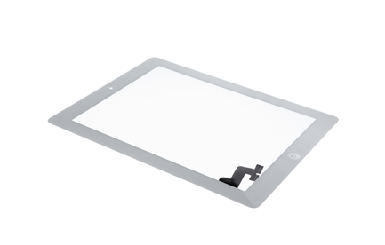 iPad 2 - Displayglas inkl. Touch weiß