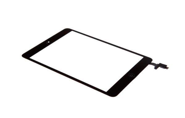 iPad mini 1 - Displayglas inkl. Touch schwarz
